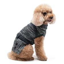 Black Multiway Dog Sweater