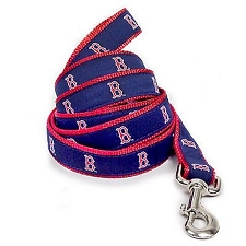 Boston Red Sox Ribbon Dog Leash