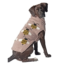 Bumble Bee Dog Sweater by Chilly Dog