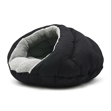 Burger Bed- Solid Black