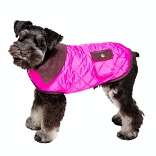 Barn Dog Coat- Hot Pink