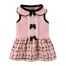 Miss Manners Pink Dog Dress