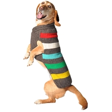 Charcoal Stripe Sweater by Chilly Dog