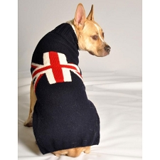 Chilly Dog Union Jack Sweater