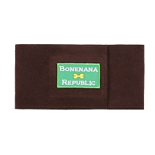 Bonenana Republic Wizzer Bellyband by Susan Lanci- Chocolate