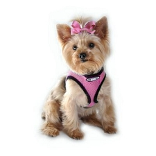 Choke Free Dog Harness- Bubblegum Pink