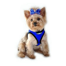 Choke Free Dog Harness- Scuba Blue
