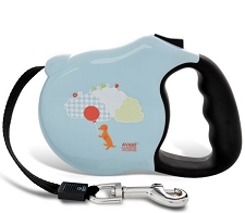Cloud 9 Baby Blue Retractable Dog Leash