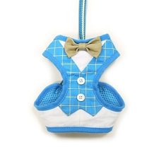 Country Club Bowtie Dog Harness