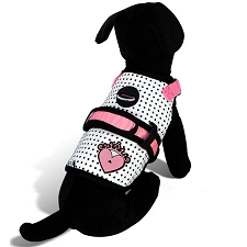 Couture Princess Heart Dog Harness