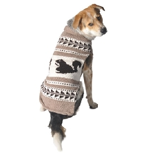 Cowichan Squirrel Shawl Dog Sweater
