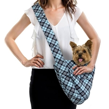 Cuddle Dog Carrier by Susan Lanci - Tiffy Scotty Plaid