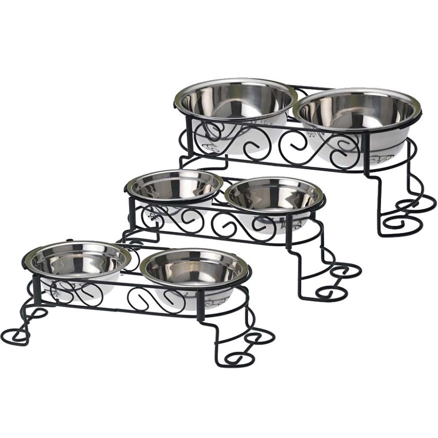 cynthia u0026 39 s scroll elevated dog feeder