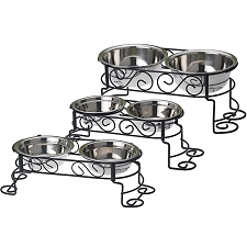 Cynthia's Scroll Elevated Dog Feeder