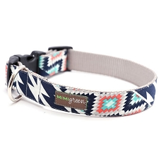 Dakota Dog Collar by Mimi Green