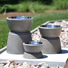 Dakota Elevated Dog Bowls