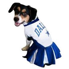 new concept 1b043 e88f2 Dallas Cowboys Cheerleader Dog Dress