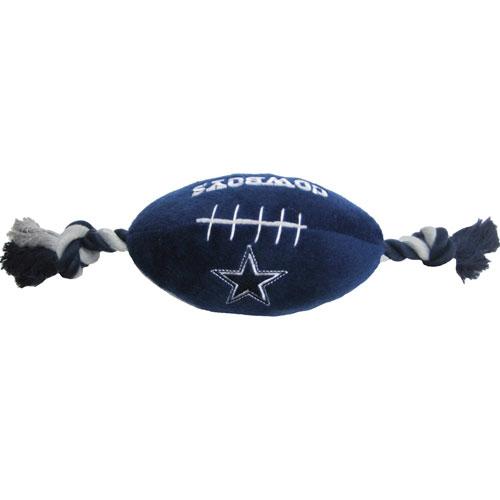 on sale b37ed 637ab Dallas Cowboys Football Dog Toy- Offically Licensed NFL Pet Gear at  Glamourmutt.com