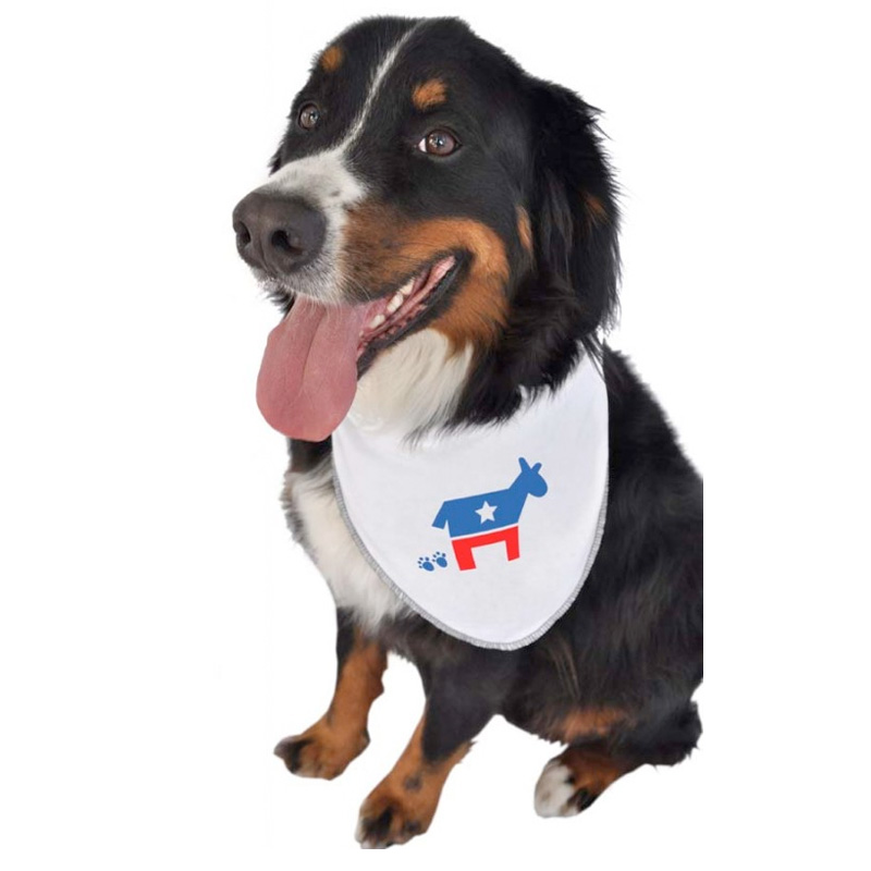 democrat dog bandana