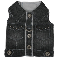 Denim Darling Vest Harness