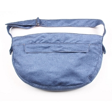 Cuddle Dog Carrier by Susan Lanci - Denim Luxe Suede