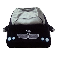 DMW Sports Car Black Dog Bed