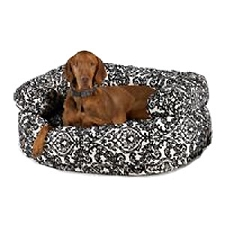 Microvelvet Double Donut Dog Bed Sofa - Ritz