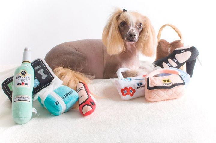 Christian Loubarkin Shoe Dog Toy Designer Dog