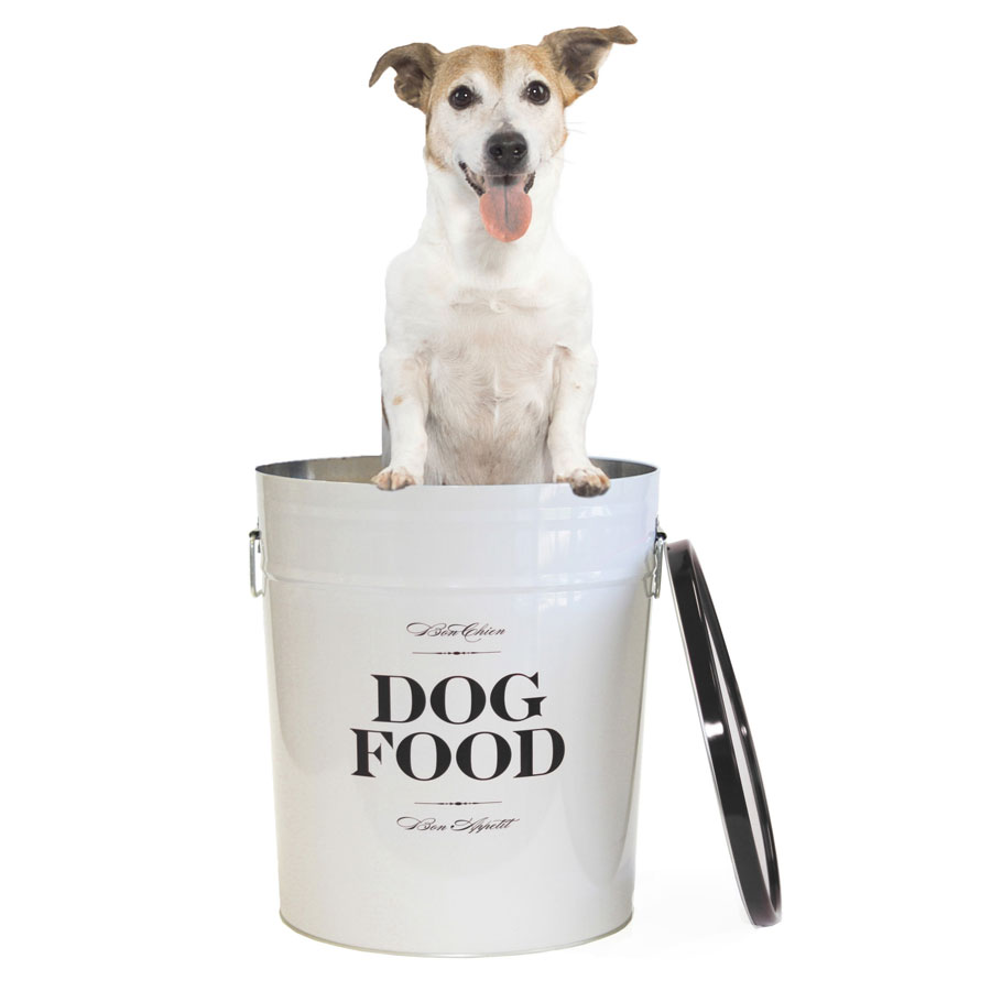 Dog Food Storage Canister Bon Chien By Harry Barker