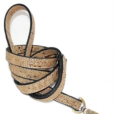Cork Dog Leash - Natural