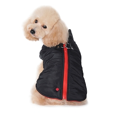 Dogo Runner Coat- Black