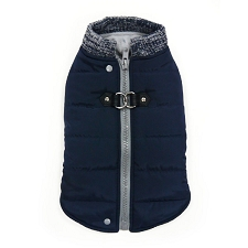 Dogo Runner Coat- Navy