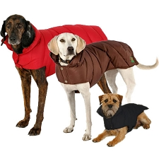 Down Puffer Dog Coat by Canine Styles
