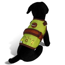 Earthday Green Dog Harness
