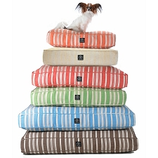Eco-Friendly Hemp Striped Dog Bed by Harry Barker