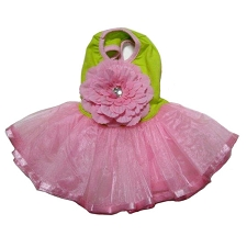 Flower Blossom Tutu Dog Dress