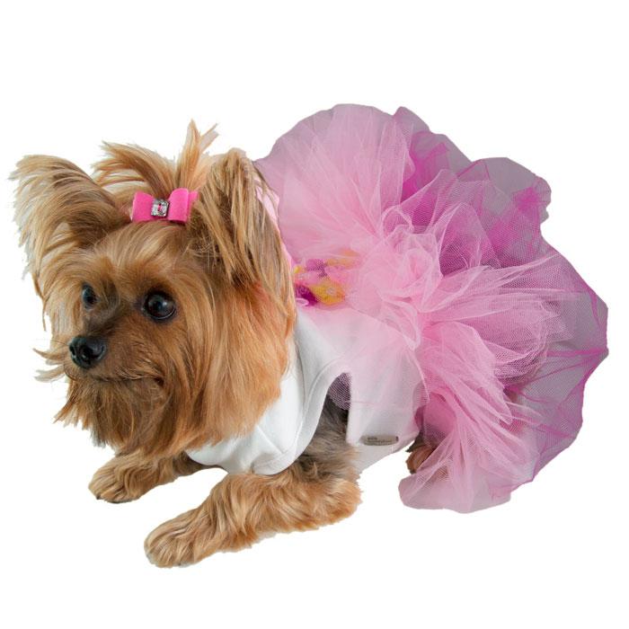 d014668a5f2d Flower Bouquet Tutu Dog Dress - Designer Dog Boutique at GlamourMutt.com