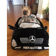 Furcedes Luxury Car Dog Bed