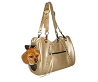 Genevieve Dog Carrier by PETote - Gold