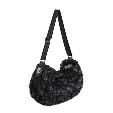 Gia Luxury Sling- Black Rose