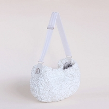 Gia Luxury Sling- White Rose