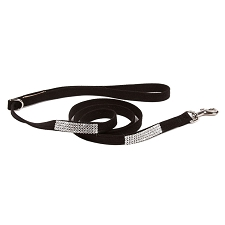 Giltmore Quadruple Row Swarovski Crystal Dog Leash - 20 Colors