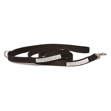 Giltmore Triple Row Swarovski Crystal Dog Leash - 20 Colors