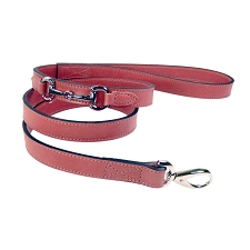 Gucci Poochie Italian Leather Dog Leash - Petal Pink