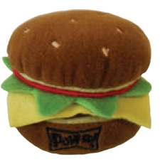 Hamburger Dog Toy