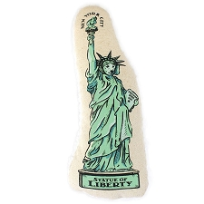 NYC Statue of Liberty Dog Toy