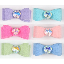 Heartstrings Swarovski Crystal Hair Bows- 20 Colors