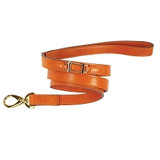 Hermes Hound Leather Dog Leash- 9 Colors
