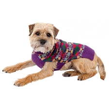 Highland Wool Dog Sweater