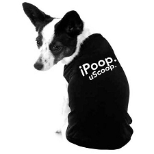 iPoop uScoop Dog Shirt